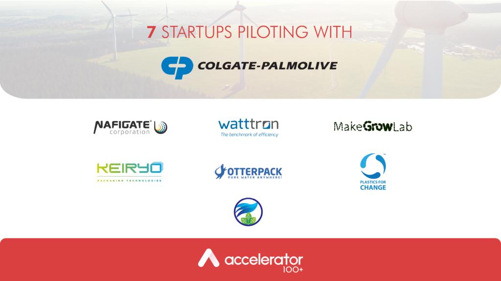 Pilotgroup Startups with Colgate-Palmolive_100+ accelerator